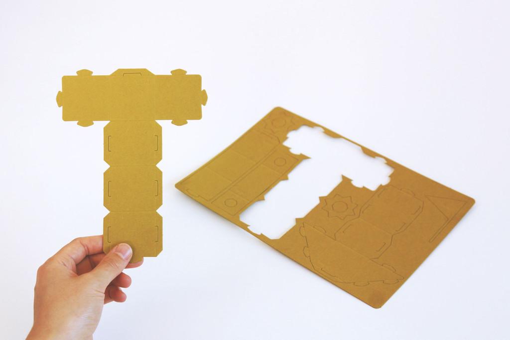 紙の積み木 PABEL